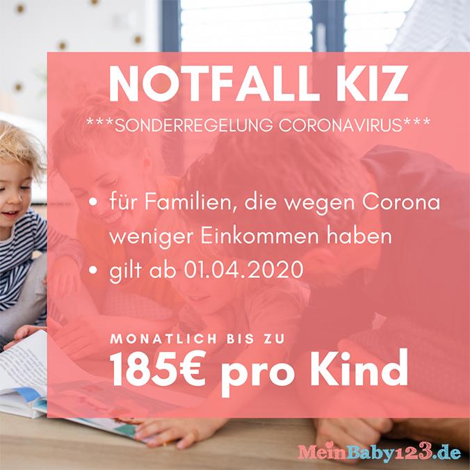 Помощь родителям в период короновирусного кризиса: экстренная помощь KiZ