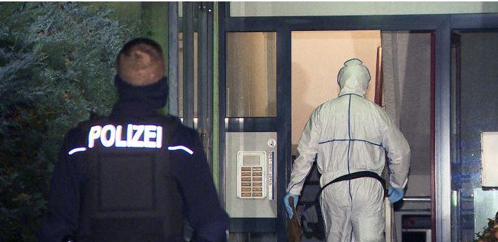 Убийство в Трептов-Кёпеник Берлин.