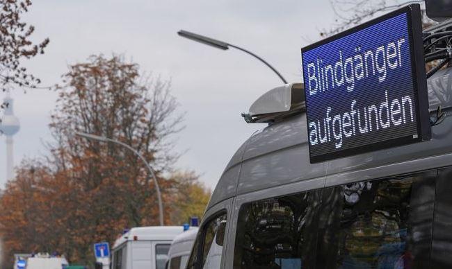 Бомба в Берлине Кройцберг.