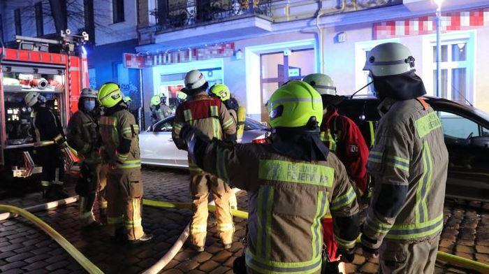 Очередной пожар в Берлине