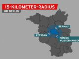 Сенат Берлина принял решение о радиусе 15 км