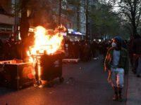 Итоги перво-мая в Берлине, 240 арестованы и не менее 30 полицейских ранены.
