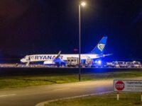Ryanair был принудительно посажен в Берлине.